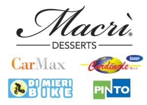Sponsor: Macrì Desserts - CarMax Auto - Di Mieri Bike - Pinto Srl - Cardinale Group Srl